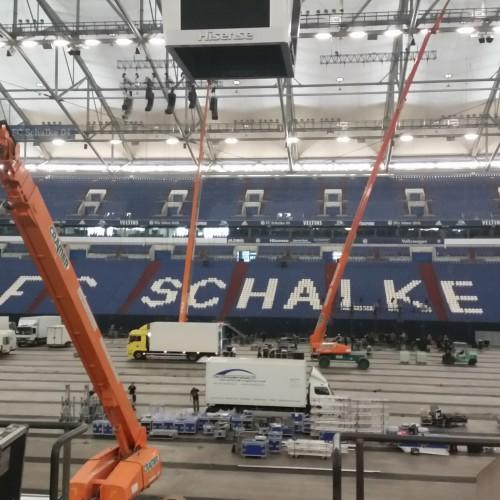 06.2016 Holzland Hausmesse Arena auf Schalke